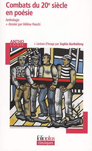 9782070379675: Combats du 20e siècle en poésie