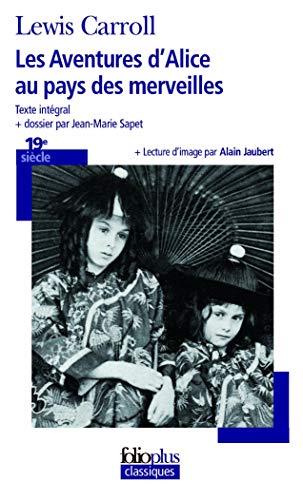 9782070379927: Les Aventures d'Alice au pays des merveilles (Folio Plus Classique)
