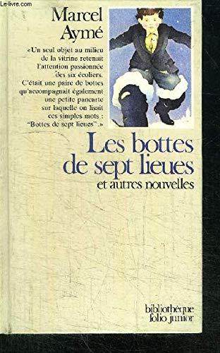 9782070380312: LES BOTTES DE SEPT LIEUES ET AUTRES NOUVELLES