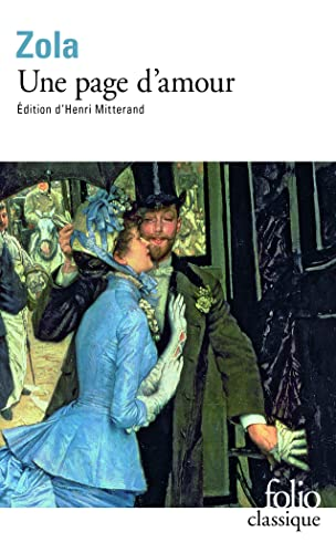 9782070381876: Les Rougon-Macquart, VIII : Une page d'amour (Folio)