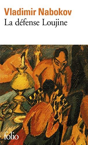 Defense Loujine (Folio) (English and French Edition): Vladimi Nabokov