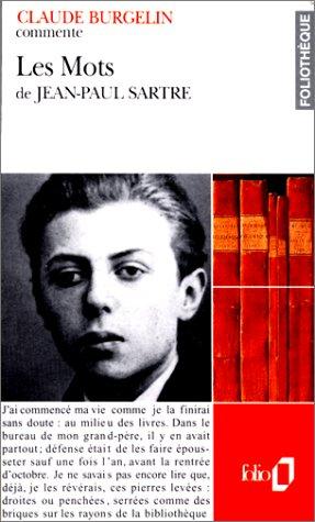 9782070386406: Les Mots de Jean-Paul Sartre (Essai et dossier)