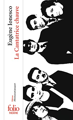 9782070386536: La Cantatrice Chauve (Folio Theatre) (French Edition)