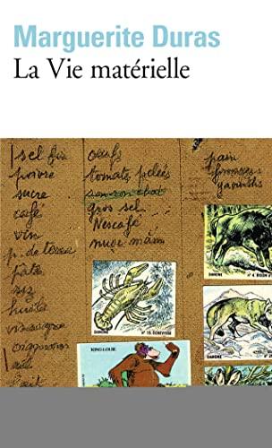 La Vie Materielle (Folio) (French Edition) (9782070387175) by Duras, Marguerite