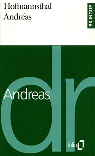 Andrà as/Andreas [Mass Market Paperback] [May 03, 1994] Hofmannsthal,Hugo von; Le Rider...
