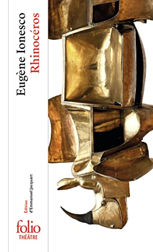 9782070389209: Rhinoceros. Per le Scuole superiori (Folio Théâtre)