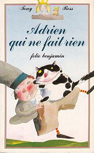 9782070391950: Adrien qui ne fait rien (Folio Benjamin)