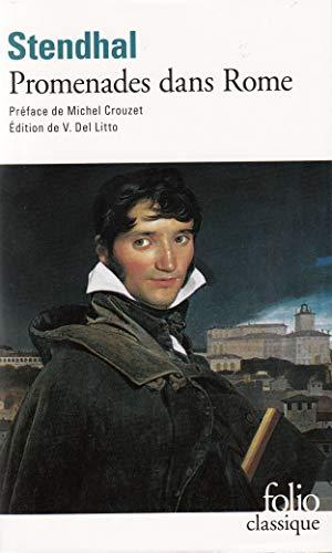 Promenades dans Rome Stendhal and Del Litto,