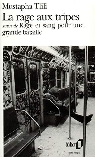 9782070393527: Rage Aux Tripes Rage (Folio) (English and French Edition)