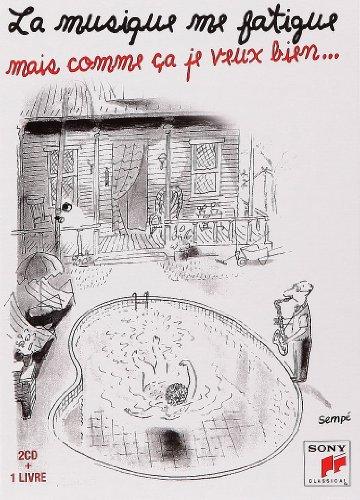 Musique Me Fatigue LIV CD (Livre CD Poche) (French Edition): Sempe
