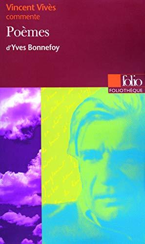 9782070396498: Poèmes d'Yves Bonnefoy (Essai et Dossier)