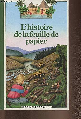 9782070397075: L'histoire de la feuille de papier