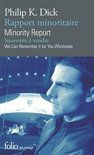 9782070399314: Rapport minoritaire/Minority Report - Souvenirs � vendre/We Can Remember It for You Wholesale