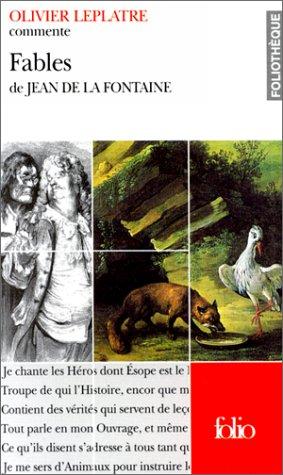 9782070401369: Fables de La Font Fo T (Foliotheque) (French Edition)