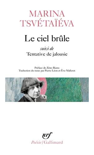 9782070403608: Ciel Brule Tentative (Poesie/Gallimard) (French Edition)