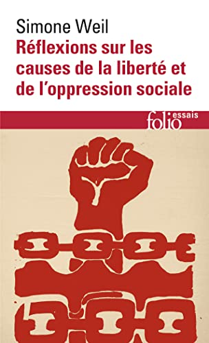 Reflex Sur Les Causes (Folio Essais) (English: Weil, Simone