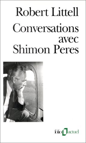 9782070404438: Conver Avec Shim Peres (Folio Actuel) (English and French Edition)