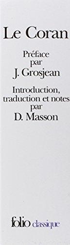 9782070406166: Le Coran, 2 volumes