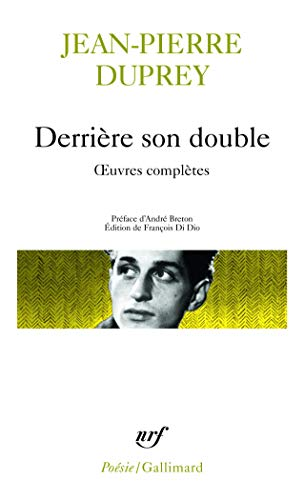 9782070406289: Derriere Son Double (Poesie/Gallimard) (English and French Edition)