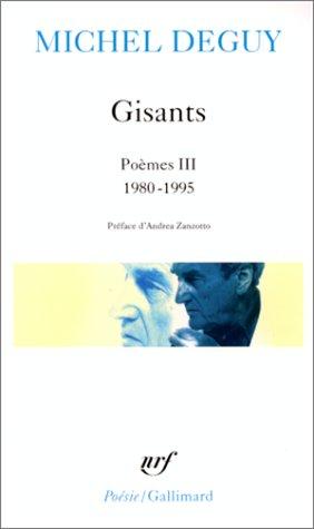 9782070407866: Gisants. Poem 3 1980 95 (Bibliotheque de la Pleiade)