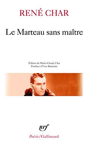 """9782070410682: Le Marteau sans maître, suivi de """"Moulin premier"""""""