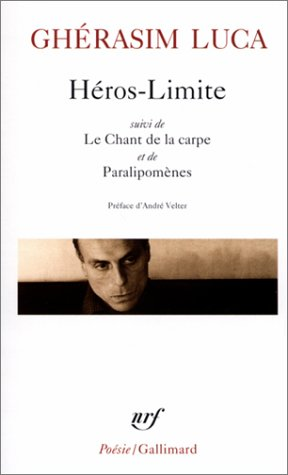 9782070410699: Heros Limite/Le Chant de (Poesie/Gallimard) (French Edition)