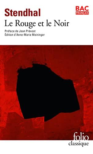 9782070412396: Stendhal: Le Rouge et le Noir (Folio Classique) (English and French Edition)