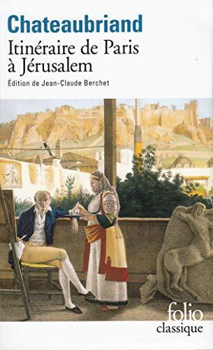 9782070415168: Itineraire de Paris a Jeru (Folio (Gallimard)) (French Edition)