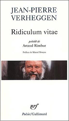 9782070417070: Ridiculum vitae/Artaud Rimbur