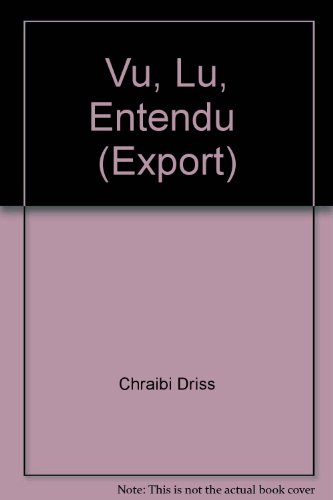 9782070418138: Vu, Lu, Entendu (Export) (Folio)