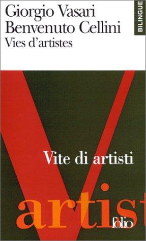 9782070419340: Vies d'artistes (�dition bilingue, fran�ais-italien)