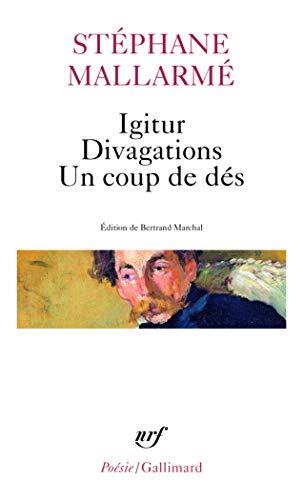 9782070421244: Igitur Divag Coup Des (Poesie/Gallimard) (French Edition)