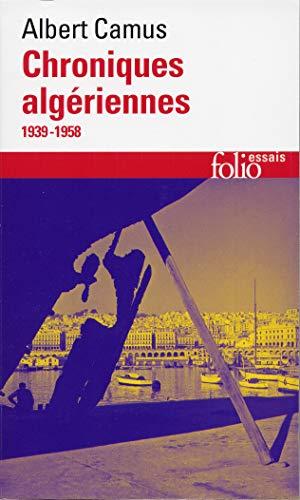 9782070422722: Chroniques Algeriennes (Folio Essais) (French Edition)