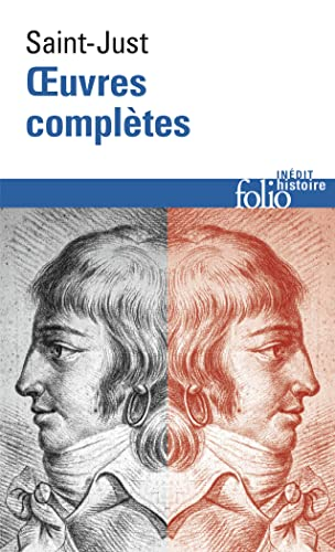 9782070422753: Oeuv Comp Saint Just (Folio Histoire) (French Edition)