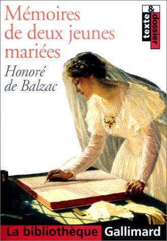 9782070423675: Mémoires de deux jeunes mariées