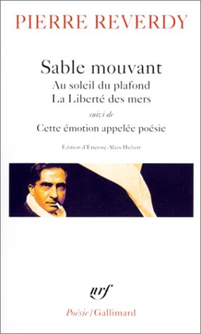 9782070423743: Sable Mouvant Au Soleil Du (Poesie/Gallimard) (French Edition)