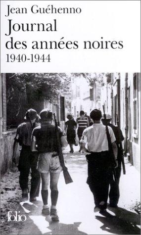9782070425099: Journal des années noires, 1940-1944