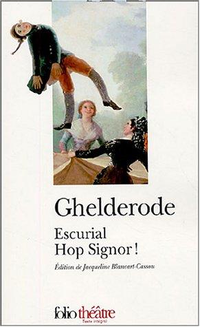 9782070425396: Escurial - Hop Signor !