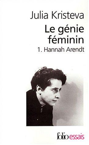 9782070427383: Le génie féminin, tome 1 : Hannah Arendt