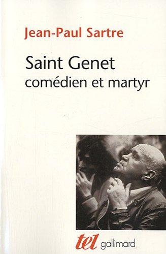 9782070438280: Saint Genet comédien et martyr
