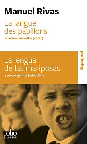 9782070444366: La langue des papillons et autres nouvelles (choix)/La lengua de las mariposas y otras novelas (selección)