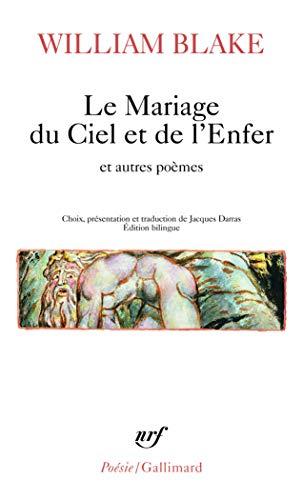 9782070448944: Le Mariage du Ciel et de l'Enfer et autres poèmes
