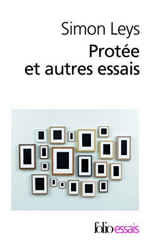9782070449255: Protee ET Autres Essais (French Edition)