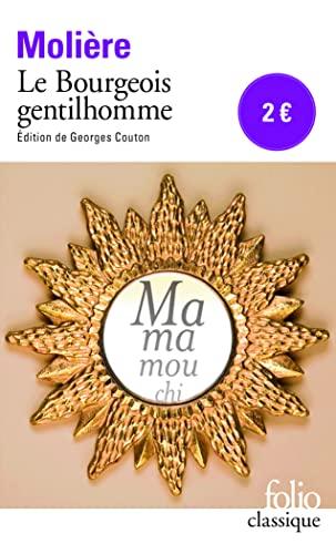 9782070450008: Le Bourgeois gentilhomme (Folio Classique)