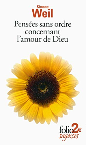 9782070451876: Pensees Sans Ordre Concernant L'Amour De Dieu (French Edition)