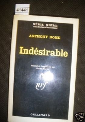 9782070476558: Indesirable