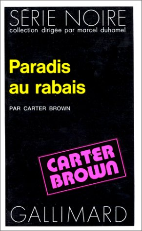 Paradis au rabais (9782070485659) by Carter Brown