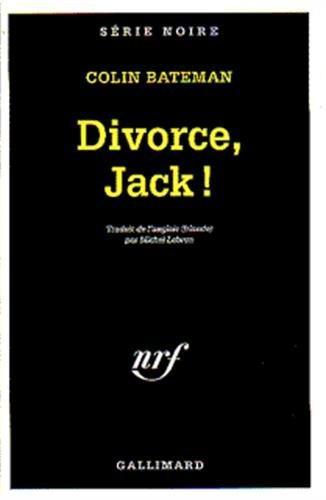 9782070495092: Divorce, Jack !