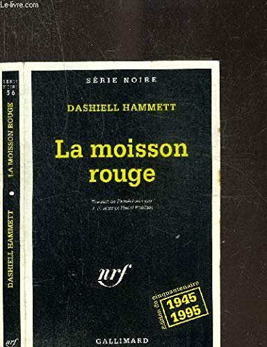 La moisson rouge (9782070495498) by [???]