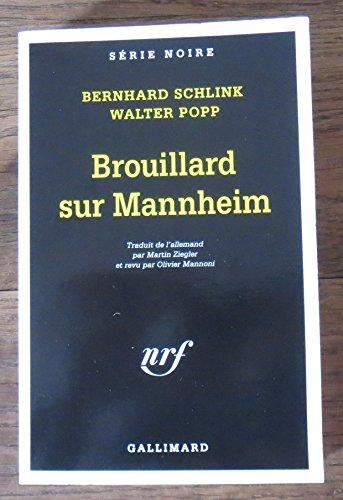 9782070496457: Brouillard sur mannheim